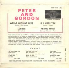 PETER AND GORDON - A WORLD WITHOUT LOVE - ESRF 1533 - FRANCE - EP - pic 1