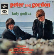 PETER AND GORDON - WOMAN - ESRF 1824 - FRANCE - EP - pic 1