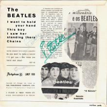 PORTUGAL 002 A - 1964 01 00 - LMEP 1169 - I WANT TO HOLD YOUR HAND - SLEEVE 1 - pic 1