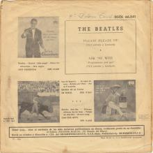 SPAIN 1963 04 30 - PLEASE PLEASE ME ⁄ ASK ME WHY - SLEEVE 05 LABEL B - DSOL 66.041 - pic 1