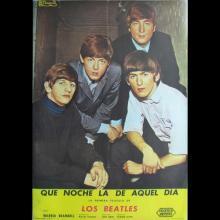 SPAIN 1964 A HARD DAY'S NIGHT - QUE NOCHE LA DE AQUEL DIA - MOVIEPOSTER FILMPOSTER - 100 X 70 - pic 1