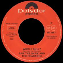 THE BEATLES DISCOGRAPHY AUSTRIA 050 AIN'T SHE SWEET ⁄ WOOLY BULLY - POLYDOR 863 186-7 A / 863 186-7 B ⁄ LEINER - pic 5