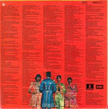 THE BEATLES DISCOGRAPHY BELGIUM 1967 06 01 - 1974 ⁄ 5 - SGT.PEPPERS LONELY HEARTS CLUB BAND - B - PARLOPHONE - 4C 066-04177 - pic 1