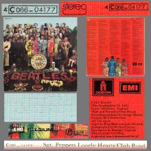 THE BEATLES DISCOGRAPHY BELGIUM 1967 06 01 - 1974 ⁄ 5 - SGT.PEPPERS LONELY HEARTS CLUB BAND - B - PARLOPHONE - 4C 066-04177 - pic 6