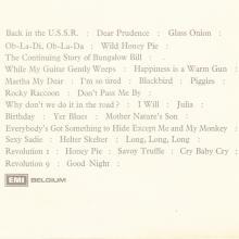 THE BEATLES DISCOGRAPHY BELGIUM 1968 11 22 - 1976 - THE BEATLES (WHITE ALBUM) - A - B - 4C 156-04173 ⁄ 4C 156-04174 - pic 1