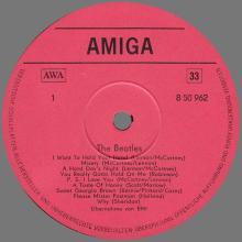 THE BEATLES DISCOGRAPHY DDR GERMANY 1965 01 14 - C - 1983  - THE BEATLES - AMIGA VEB DEUTSCHE SCHALLPLATTEN - 8 50 040 - pic 1