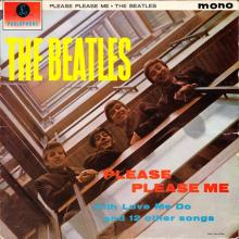 THE BEATLES DISCOGRAPHY DENMARK 1963 03 22 a PLEASE PLEASE ME - PMC 1202 - pic 1