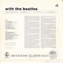 THE BEATLES DISCOGRAPHY DENMARK 1963 11 22 WITH THE BEATLES - PMC 1206 - pic 1