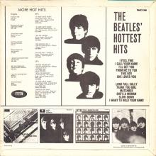 THE BEATLES DISCOGRAPHY DENMARK 1965 04 00 THE BEATLES' HOTTEST HITS - PMCS 306 - pic 1