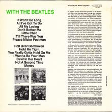 THE BEATLES DISCOGRAPHY FRANCE 1963 12 00 LES BEATLES - Q - WITH THE BEATLES - BLACK PARLOPHONE SACEM - 1C 072-04181 - pic 1