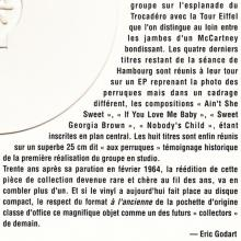 THE BEATLES DISCOGRAPHY FRANCE 1994 00 00 - LES BEATLES - POLYDOR 45 900 STANDARD - LE CLUB DIAL - CD - 2 024193 001123 - pic 10