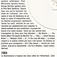 THE BEATLES DISCOGRAPHY FRANCE 1994 00 00 - LES BEATLES - POLYDOR 45 900 STANDARD - LE CLUB DIAL - CD - 2 024193 001123 - pic 8