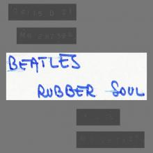THE BEATLES DISCOGRAPHY FRANCE 1972 00 00 - RUBBER SOUL - 2C 066-04115 - TEST PRESSING A-SIDE - pic 1