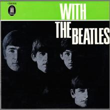 THE BEATLES DISCOGRAPHY GERMANY 1963 12 00  WITH THE BEATLES - E - 1973 - BLUE ODEON - 1C 062-04.181 - pic 1