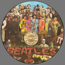 THE BEATLES DISCOGRAPHY GERMANY 1979 01 00 SGT.PEPPERS LONELY HEARTS CLUB BAND - PHO 7027 - PICTURE DISC - pic 1