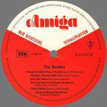 THE BEATLES DISCOGRAPHY DDR GERMANY 1965 01 14 - B - THE BEATLES - AMIGA VEB DEUTSCHE SCHALLPLATTEN - 8 50 040 - pic 1
