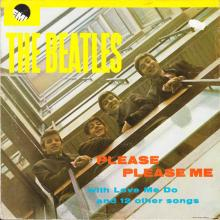 THE BEATLES DISCOGRAPHY GREECE 1963 03 22 - 1980 PLEASE PLEASE ME - 14C 062-04219 ⁄ 2J 062-04219  - pic 1