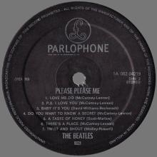 THE BEATLES DISCOGRAPHY HOLLAND 1963 03 00 - 1977 - THE BEATLES PLEASE PLEASE ME - PARLOPHONE - 1A 062-04219 - pic 1