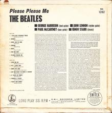 THE BEATLES DISCOGRAPHY HOLLAND 1963 03 00 - 1963 -THE BEATLES PLEASE PLEASE ME - PARLOPHONE - PMC 1202 - pic 1
