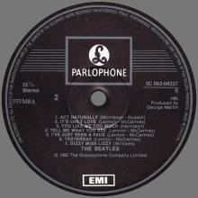 THE BEATLES DISCOGRAPHY SWEDEN 1979 00 00 HOLLAND THE BEATLES HELP ! - SHELL COVER -5C 062-04257 - pic 1
