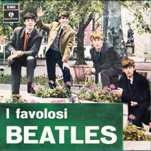 THE BEATLES DISCOGRAPHY ITALY 1964 02 04 ⁄ 1970 05 29 I FAVOLOSI BEATLES -3C 064 - 04181 - pic 1