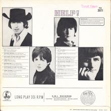 THE BEATLES DISCOGRAPHY NORWAY 1965 08 06 HELP ! - PCS 7071 - pic 1