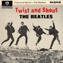 THE BEATLES DISCOGRAPHY UK - 1963 07 12 - TWIST AND SHOUT - GEP 8882 - M - EMI RECORDS LTD - SOUTHHALL PUSH-OUT CENTER - pic 1