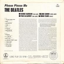 THE BEATLES DISCOGRAPHY UK 1963 03 22 PLEASE PLEASE ME - PMC 1202 - A - GOLD LABEL - pic 1