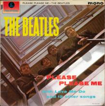 THE BEATLES DISCOGRAPHY UK 1963 03 22 PLEASE PLEASE ME - PMC 1202 - B 1 - GOLD LABEL - pic 1