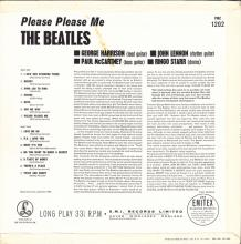 THE BEATLES DISCOGRAPHY UK 1963 03 22 PLEASE PLEASE ME - PMC 1202 - B 2 - GOLD LABEL - pic 1