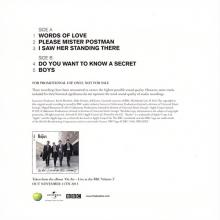 UK 2013 11 11 - THE BEATLES ON AIR - LIVE AT THE BBC VOLUME 2 - BBCLPEP - promo - pic 1