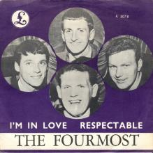 THE FOURMOST - I'M IN LOVE - R 5078 - NORWAY  - pic 1