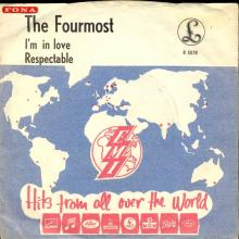 THE FOURMOST - I'M IN LOVE - R 5078 - SWEDEN  - pic 1