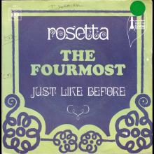 THE FOURMOST - ROSETTA ⁄ JUST LIKE BEFORE - CBS - 4041 - FRANCE - pic 1