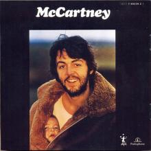 The Paul McCartney Collection 01 McCartney 0777 7 89239 2 3 hol - pic 14