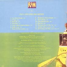 The Paul McCartney Collection 02 Ram 0777 7 89139 2 4 hol - pic 5