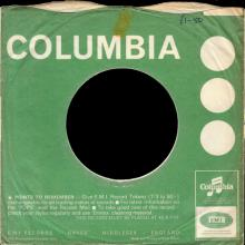 1966 11 18 - THE ESCORTS - FROM HEAD TO TOE - COLUMBIA - DB 8061 - UK - PROMO - pic 1