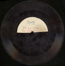 THE BEATLES ACETATE - ALL MY LOVING / TOI L'AMI - pic 1