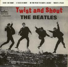 SP039,5 TWIST AND SHOUT / A TASTE OF HONEY / DO YOU WANT TO KNOW A SECRET / THERE'S A PLACE - 1 J 016-04.656 M - pic 1