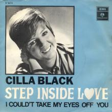 CILLA BLACK - STEP INSIDE LOVE - DENMARK - R 5674 - pic 1