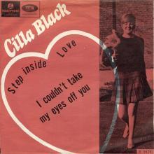 CILLA BLACK - STEP INSIDE LOVE - NORWAY - R 5674 - pic 1