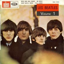 BELGIUM - FRANCE - LES BEATLES Volume 1 - MEO 21 001 - pic 1