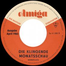 Beatles Discography DDR 040 KLINGENDE MONATSSCHAU 3 / 1965 SHE LOVES YOU / A HARD DAY'S NIGHT - pic 1