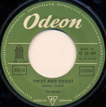 ger040  Twist And Shout / Boys - pic 1
