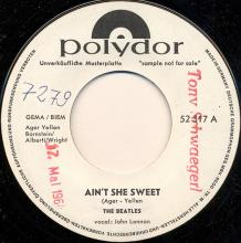 ger125   Ain't She Sweet / If You Love Me, Baby  Polydor 52 317 - pic 1