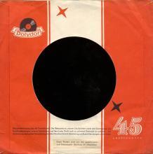 ger145  Skinny Minny / Sweet Georgia Brown  Polydor 52 324 - pic 1