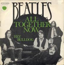 fr300 All Together Now / Hey Bulldog   (L) (J) 2C 006-04982 M - pic 1