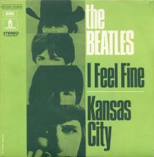 fr100 I Feel Fine / Kansas City  J 2C 006-04460 - pic 1