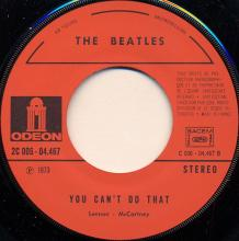 fr170 Can't Buy Me Love / You Can't Do That   J 2C 006-04467 - pic 1
