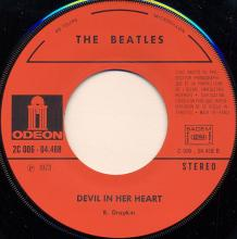 fr180 From Me To You / Devil In Her Heart Odeon   J 2C 006-04468 - pic 1